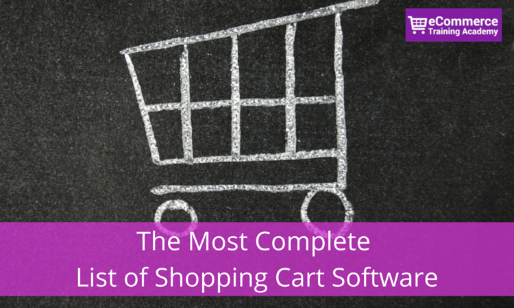 List of Shopping Cart Software