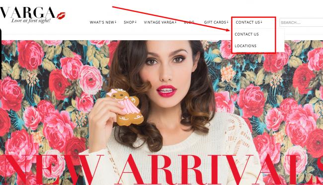 Varga Store Contact Info