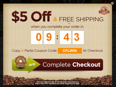 Coffee For Less Cart Retargeting