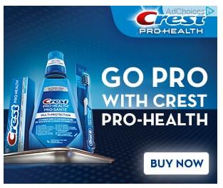 Crest Retargeting Ad Campaign