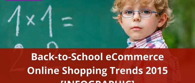 Back to School eCommerce Online Shopping Trends 2015 [INFOGRAPHIC]