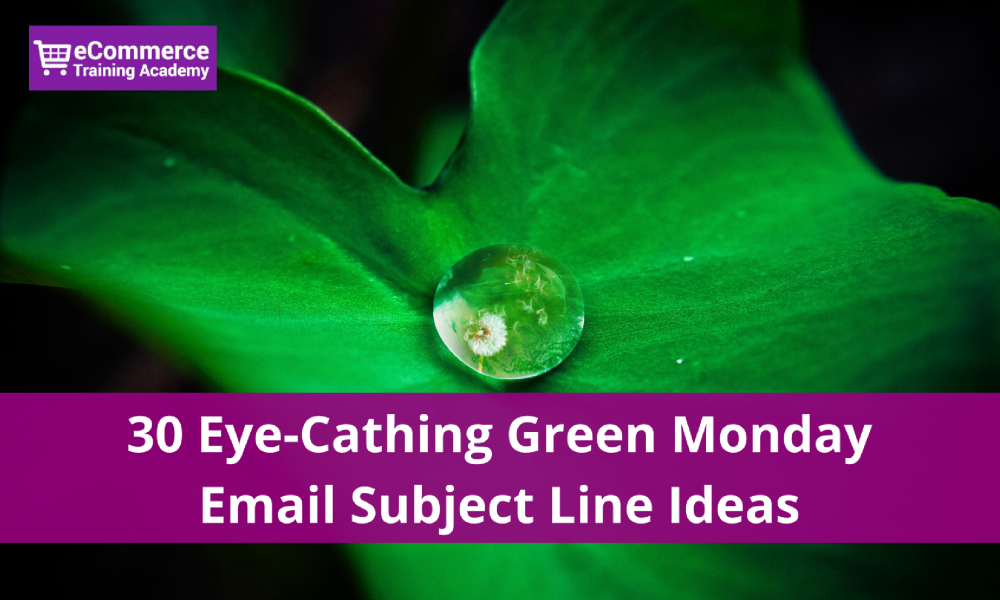 green monday email subject lines
