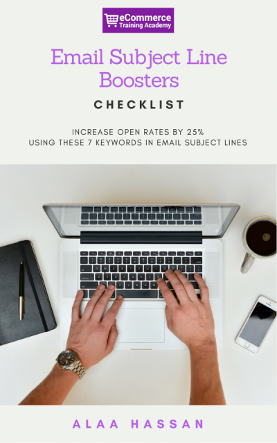 Email Subject Line Boosters Checklist