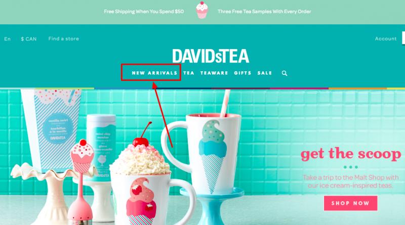 David's Tea New Arrivals