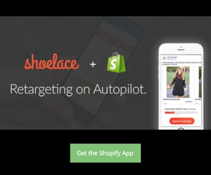 shoelace ecommerce retargeting