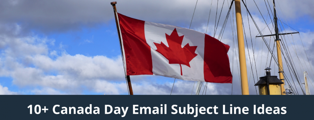 10+ Canada Day Email Subject Line Ideas for eCommerce