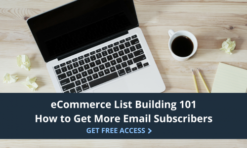 ecommerce list building 101 training
