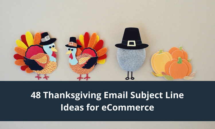 thanksgiving email subject lines