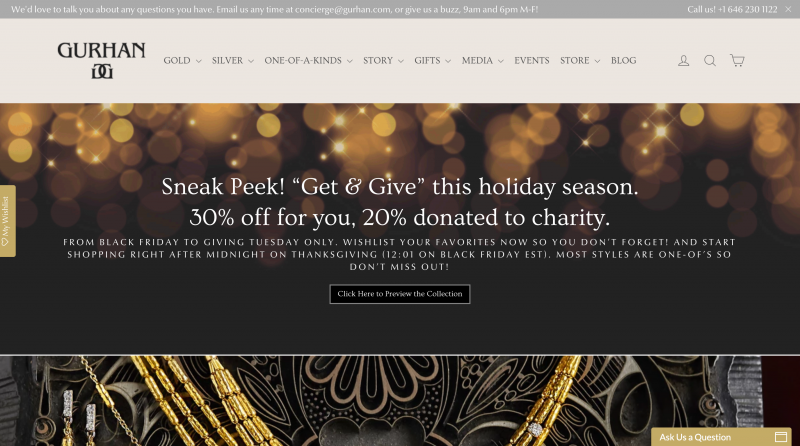 Donate Cause Black Friday Promo