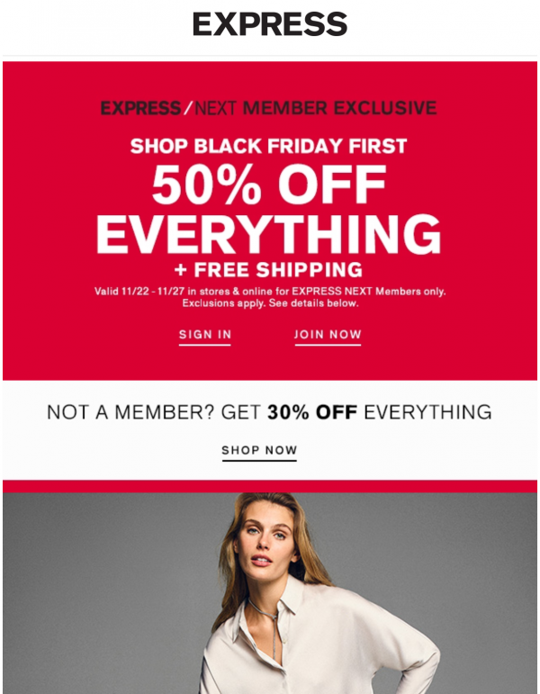 Free Shipping For Black Friday