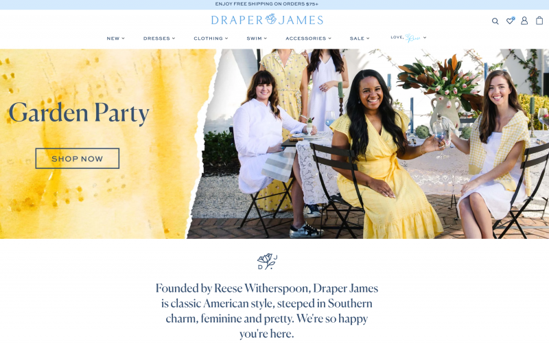 Draper James by Reese Witherspoon
