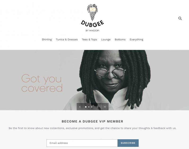 Dubgee by Whoopi