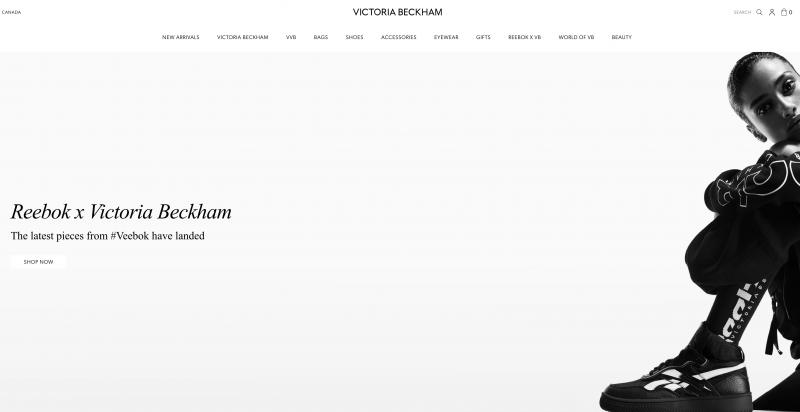 Victoria Beckham Ecommerce